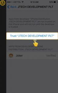 tips install apk game joker roma di ios iphone